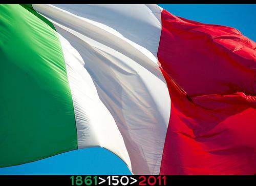 150 unit d italia le iniziative partito democratico - Bandiere bianche a colori ...